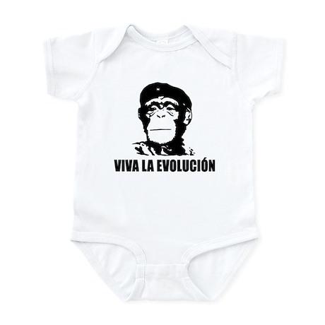 Atheism Evolution Infant Bodysuit