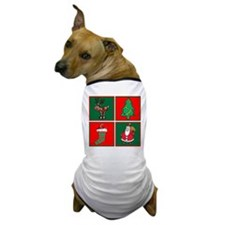 Christmas Favourites Dog T-Shirt