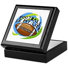 Football Life Keepsake Box