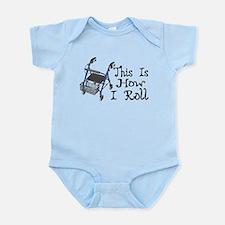 How I Roll Walker Infant Bodysuit