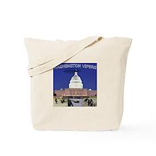 WASHINGTON DC AND TORONTO Tote Bag
