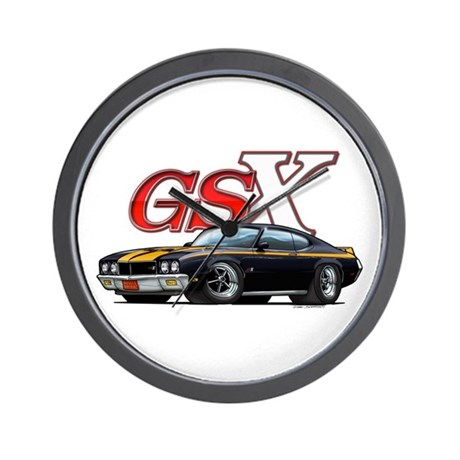 Black Skylark GSX Wall Clock