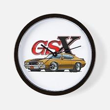 Gold Skylark GSX Wall Clock