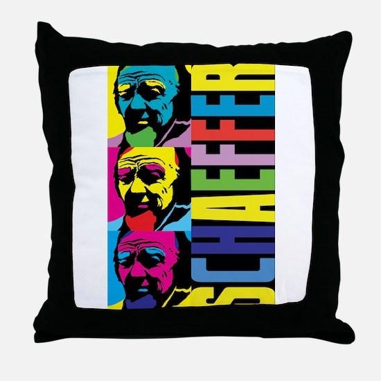 Pop Schaeffer Throw Pillow