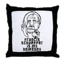 Schaeffer is my Homeboy Throw Pillow