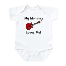 My Mommy Loves Me! w/guitar Infant Bodysuit
