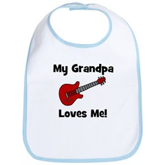 My Grandpa Loves Me! w/guitar Bib