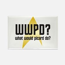 Star Trek: WWPD? Rectangle Magnet
