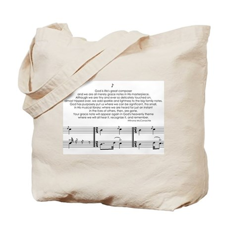 Grace Notes Tote Bag
