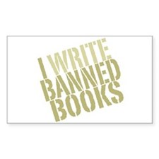 Cute Book banning Decal