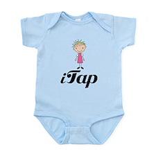 Cute I Tap Dancing Gift Infant Bodysuit