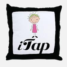 Cute I Tap Dancing Gift Throw Pillow