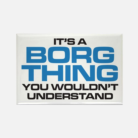 Star Trek: Borg Thing Rectangle Magnet