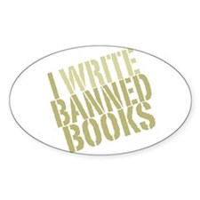 Funny Ban books Decal