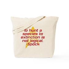 Star Trek: Spock Quote Tote Bag