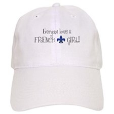 Everyone loves a French Girl! Baseball Cap