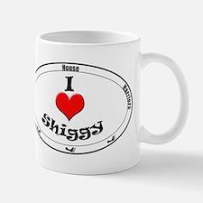 I Love Shiggy Mug