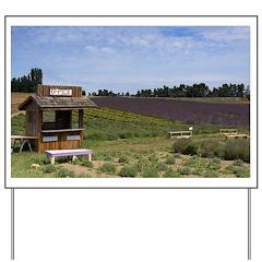 Lavender Farm Yard Sign