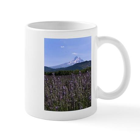 Mount Hood and Lavender Mug
