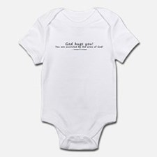 God Hugs You! Infant Bodysuit