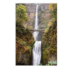 Multnomah Falls Oregon Postcards (Package of 8)
