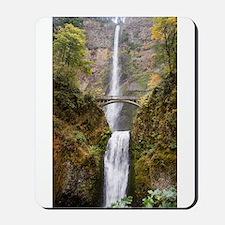 Multnomah Falls Oregon Mousepad