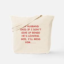 bingo player gifts Tote Bag