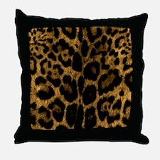 Jaguar Print Throw Pillow