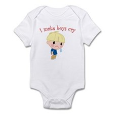 I Make Boys Cry Infant Bodysuit