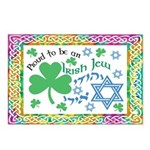 Proud Irish Jew Postcards (Package of 8)