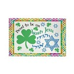 Proud Irish Jew Rectangle Magnet (100 pack)