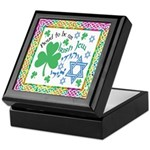 Proud Irish Jew Keepsake Box
