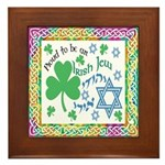 Proud Irish Jew Framed Tile