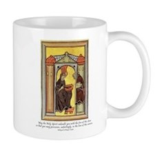 Hildegard of Bingen Small Mugs