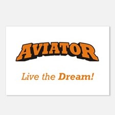 Aviator - LTD Postcards (Package of 8)