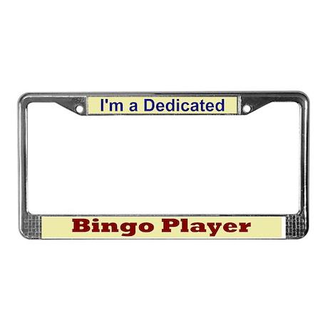 """I'm a Dedicated"" License Plate Frame"