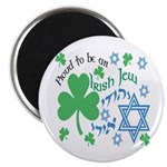 "Proud Irish Jew 2.25"" Magnet (100 pack)"