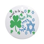 Proud Irish Jew Ornament (Round)