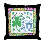 Proud Irish Jew Throw Pillow