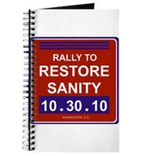 Funny Rally restore sanity Journal