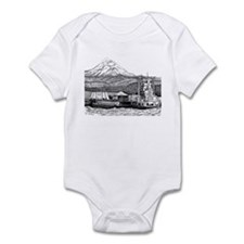 At Work on the Columbia Infant Bodysuit