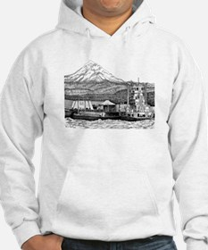 At Work on the Columbia Hoodie