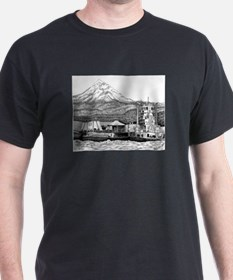 At Work on the Columbia T-Shirt