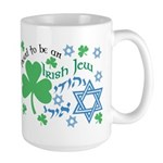 Proud Irish Jew Large Mug