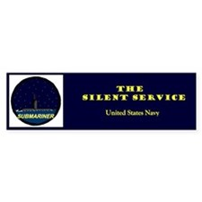 Silent Service Bumper Bumper Sticker