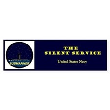 Silent Service Bumper Car Sticker