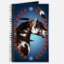 Feathered Paint Horse Journal