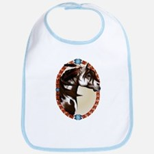 Feathered Paint Horse Bib