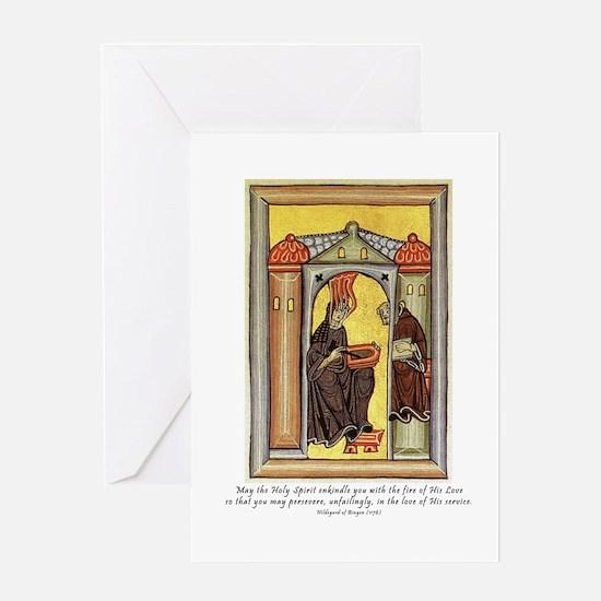 Hildegard of Bingen Greeting Card