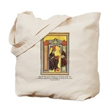 Hildegard of Bingen Tote Bag